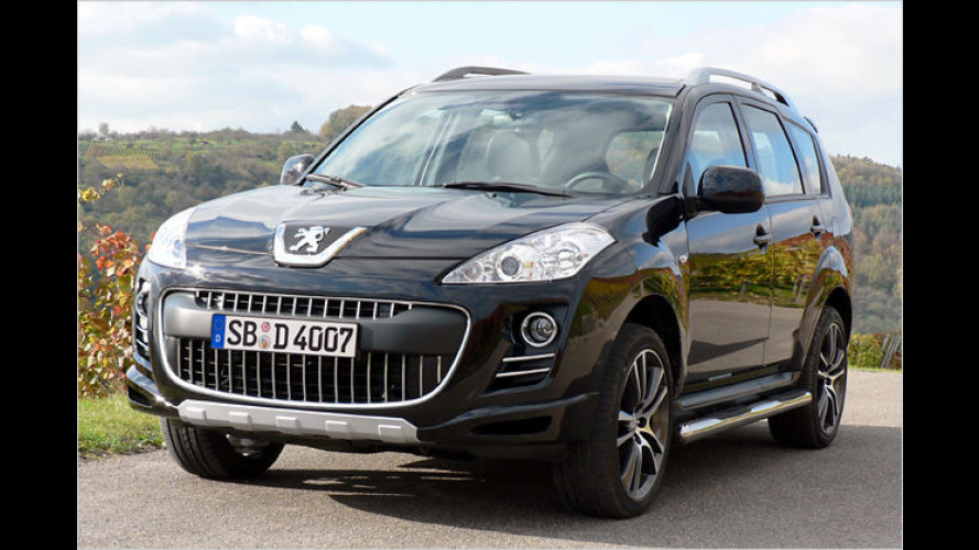 "Peugeot 4007 ,Sport Edition"" mit schickem Outfit"