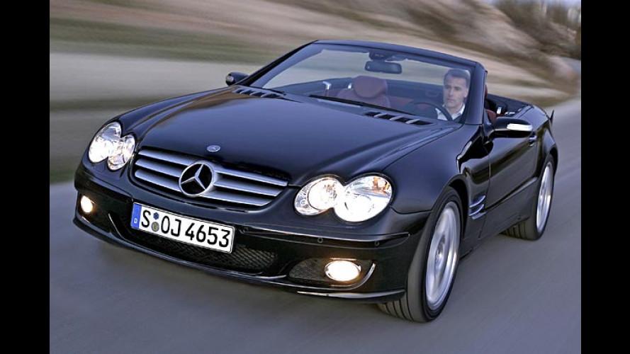 Strahlender Stern aufpoliert: Powerkur für den Mercedes SL