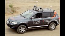 VW Passat ohne Fahrer