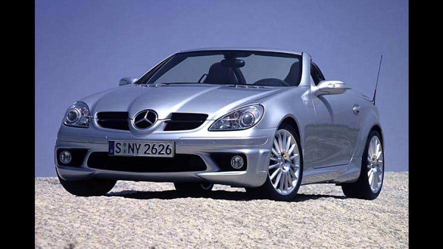 Neuer Mercedes SLK: Vom 200 Kompressor bis zum 55 AMG