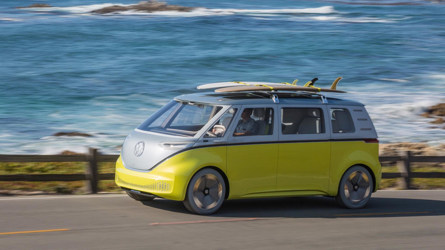Production VW ID.Buzz Electric Bus May Start At Under $50,000