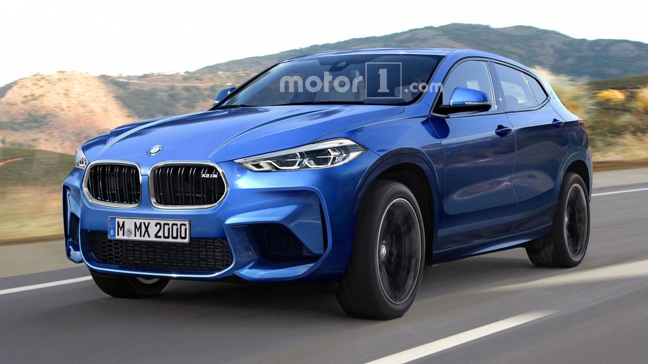BMW X2 M render
