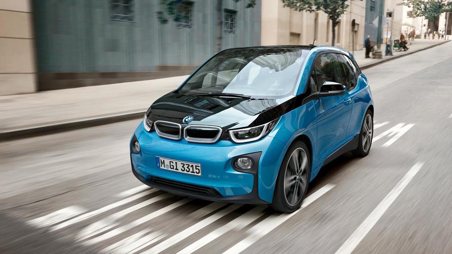 BMW i3 -rolling photo