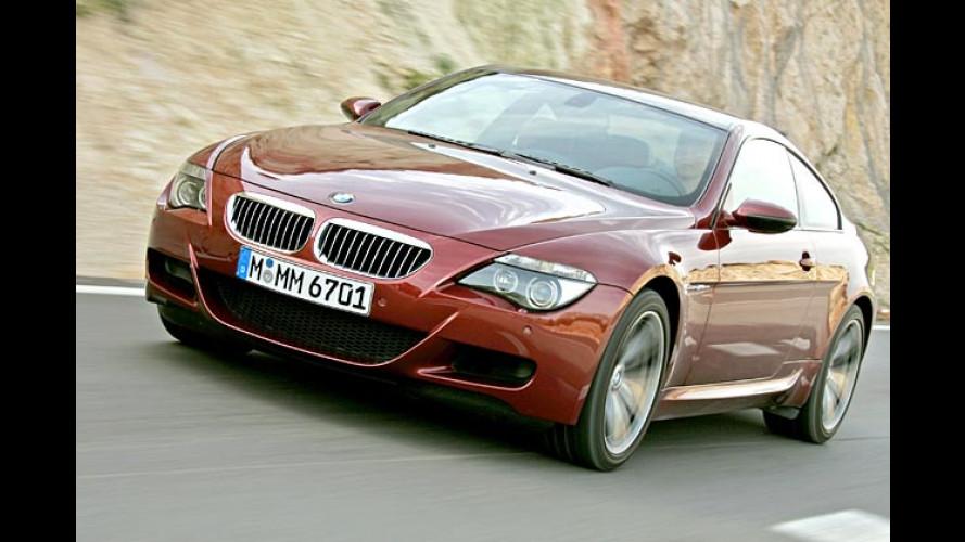 Sechs-Intercity: Der ultrastarke BMW M6 im Test