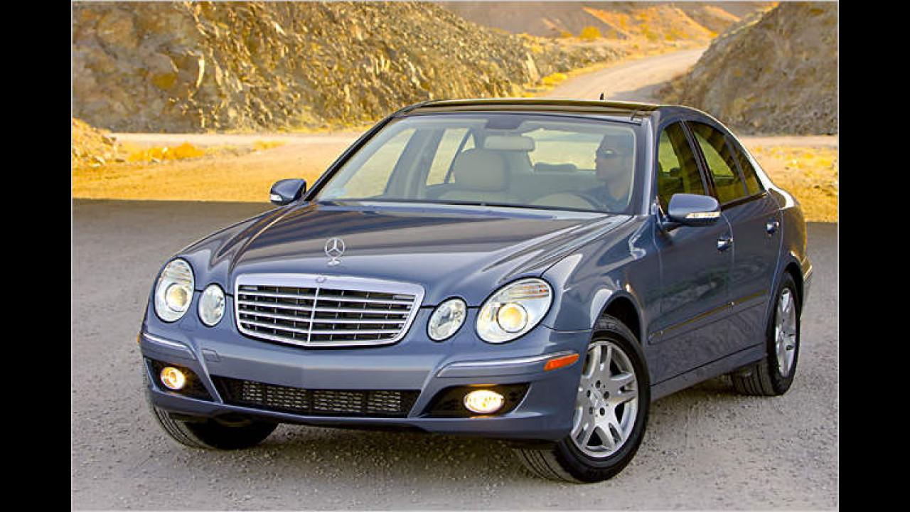 Platz 3 in der oberen Mittelklasse: Mercedes E-Klasse (19,2 Prozent)