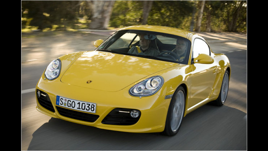 Ab ... durch die Mitte: Porsche macht den Cayman bissiger