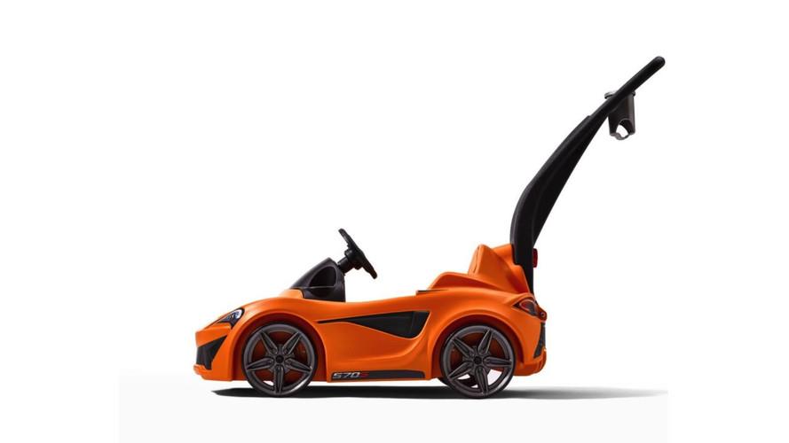 McLaren 570S de plein-air