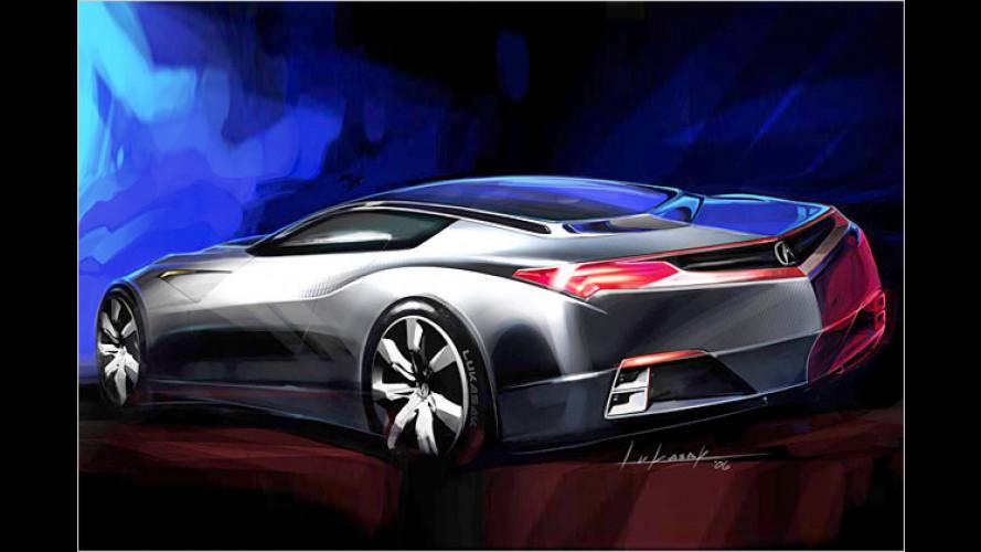 Ein bisschen Exotik: Hondas Sportwagen auf der NAIAS