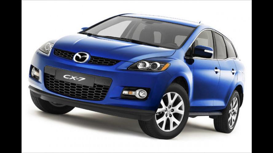Mazda CX-7: Europapremiere des Crossover-Modells in Paris