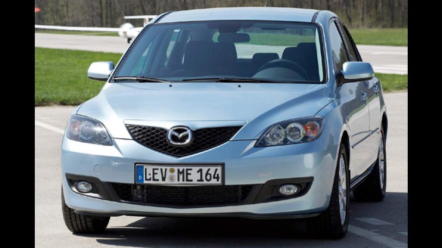 Den Mazda3 gibt es nun auch als 2.0 MZR-CD