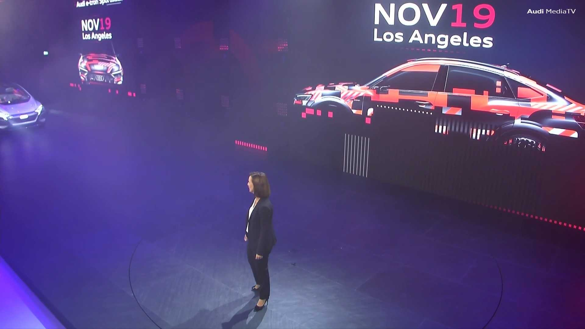 Audi E-Tron Sportback auf der IAA angeteasert, Debüt am 19. November