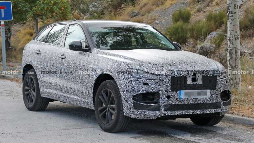 Jaguar F-Pace previews facelift for the first time