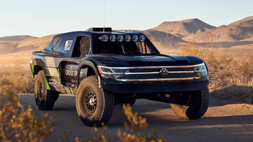 Volkswagen Atlas Cross Sport R konsepti yarışa hazır