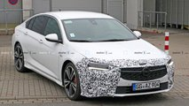 Opel Insignia, Insignia GSI new spy photos