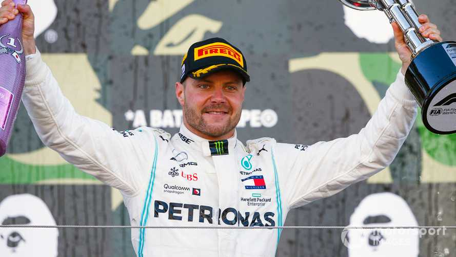 Japanese GP: Bottas wins after terrible start for Ferrari