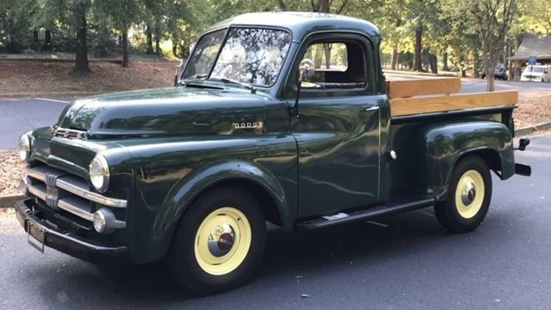 "[""Bid On This Restored 1953 Dodge B-Series Pickup""]"