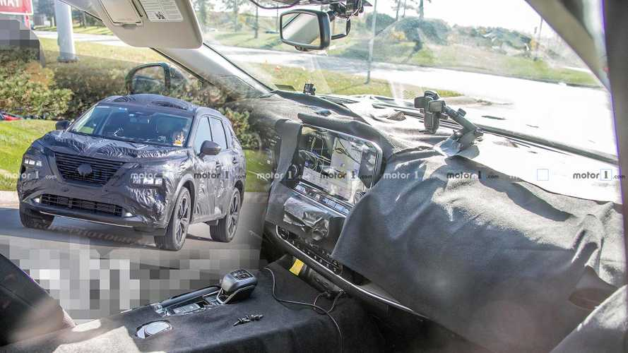 Next-Gen Nissan Rogue Spied With Extensive Interior And Exterior Updates