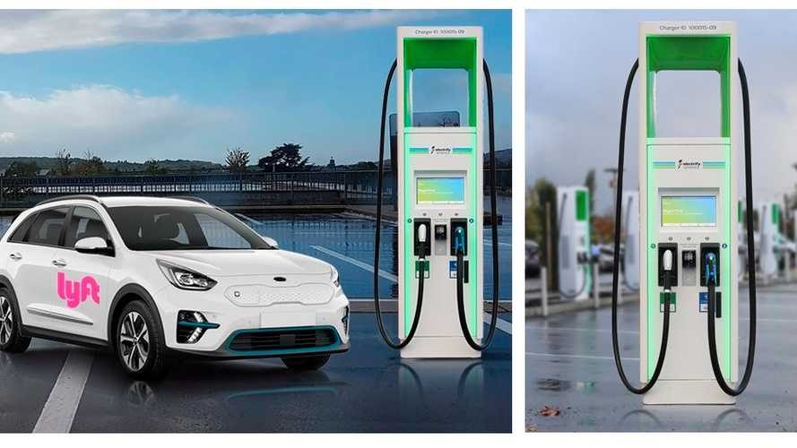 Electrify America and Lyft Collaborate on EV Rideshare Charging