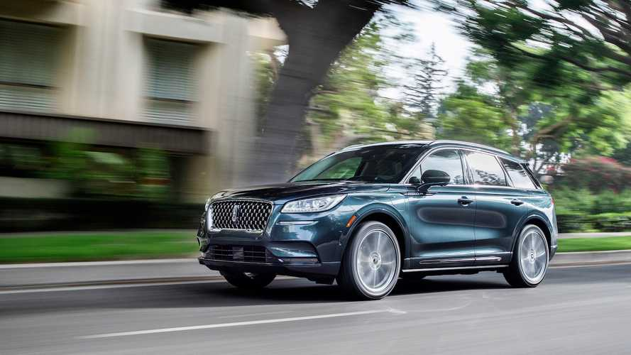 2021 Lincoln Corsair To Get Front And Rear Camera Washer, Sport Package