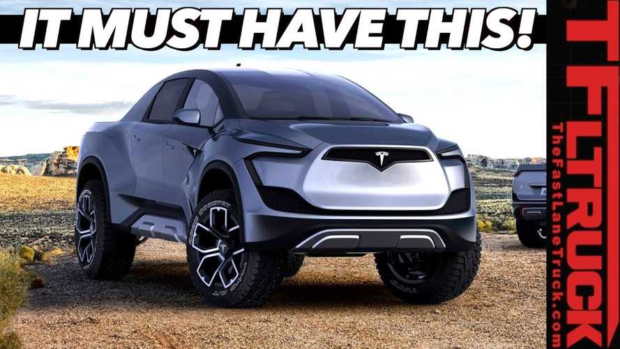 Tesla Pickup Truck 'Cybertruck' Top Ten Requirements For Success