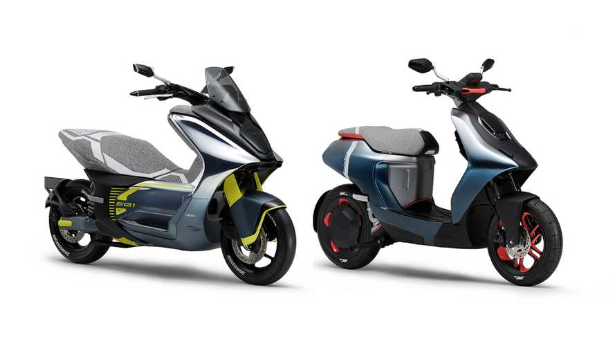 Yamaha Will Debut Two Electric Scooters In Tokyo