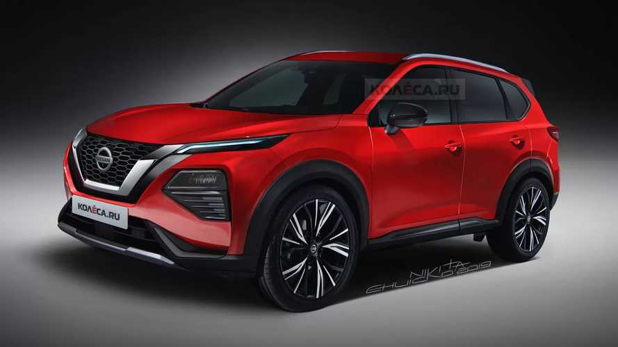 New Nissan Rogue Rendering Strips Off Camo From Spy Shots