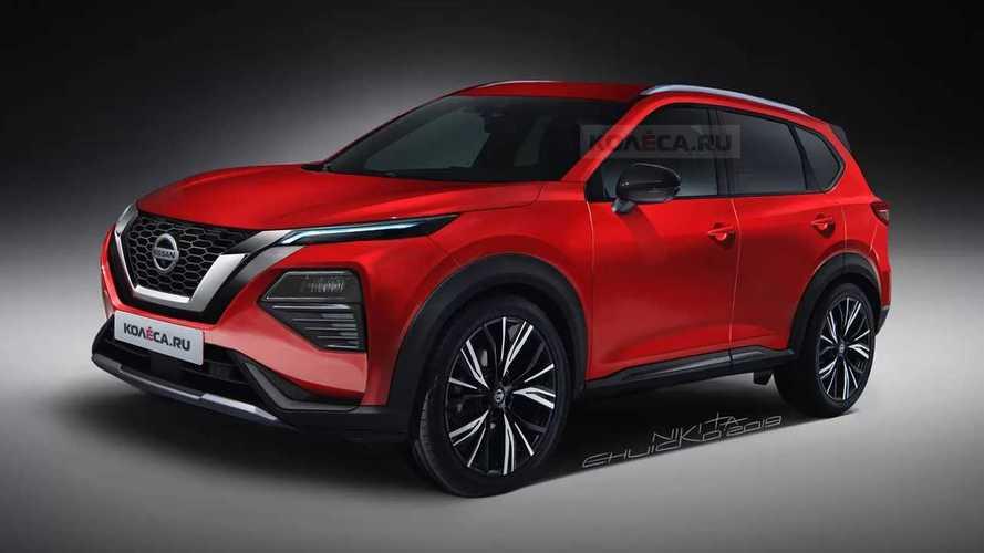 Nissan Rogue Rendering
