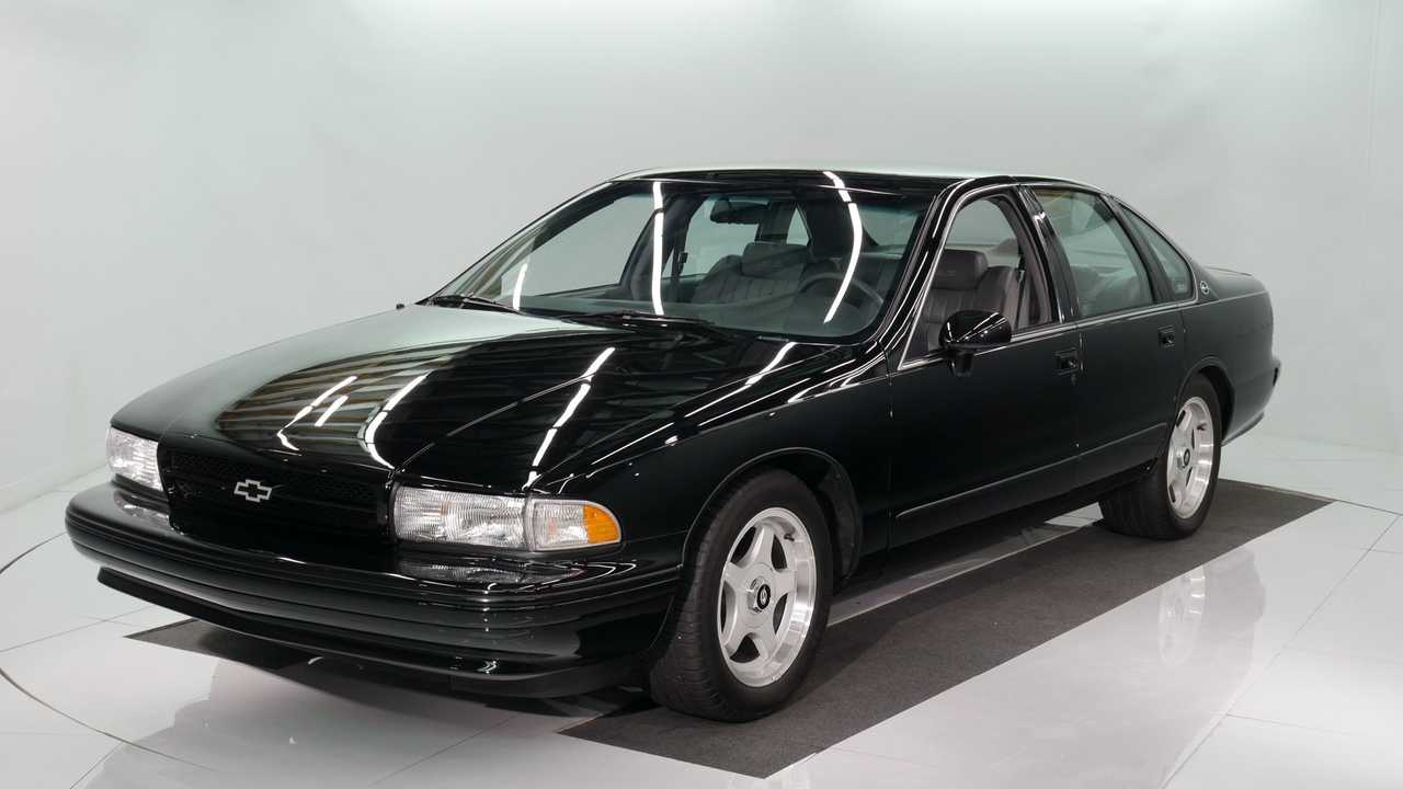 Lustrous Black 1994 Chevrolet Impala SS With Low Mileage For Sale