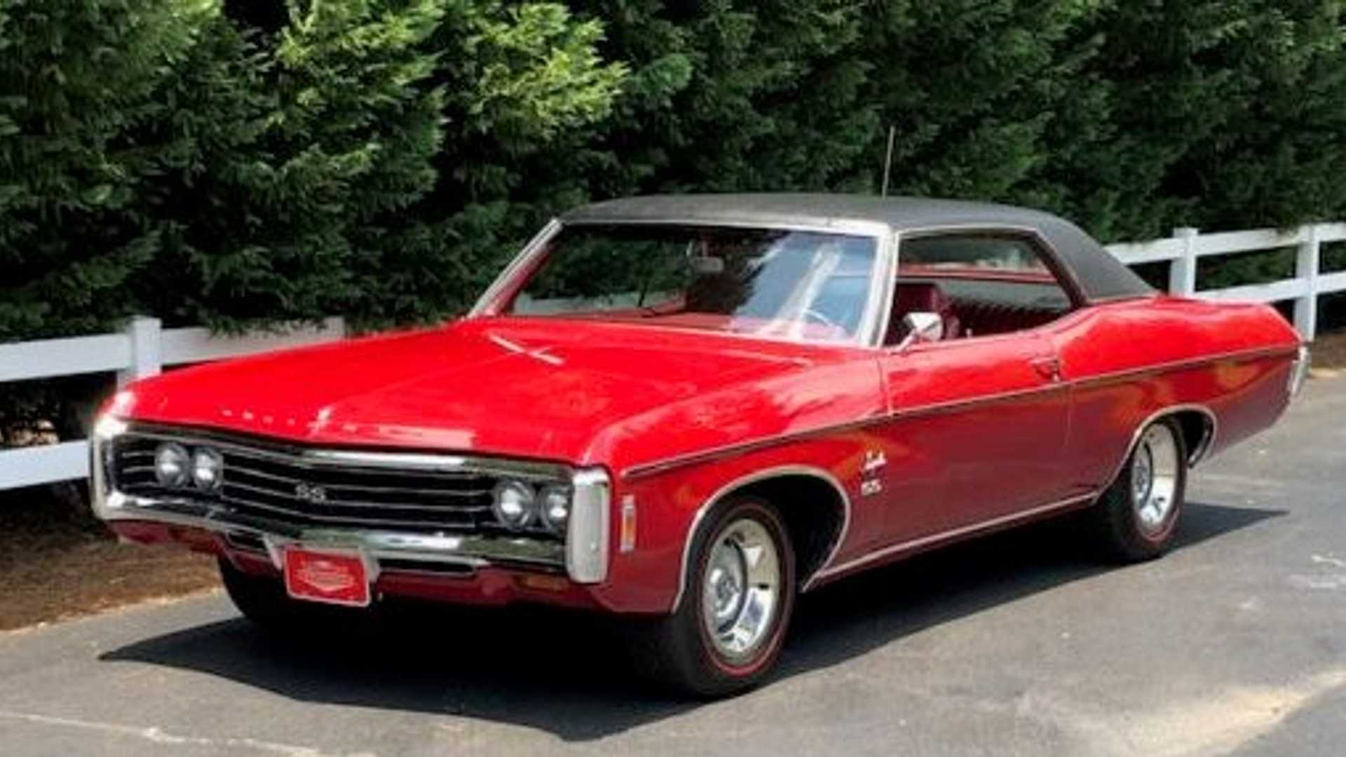 Phenomenal 1969 Impala Ss Sport Coupe Packs A 427 Punch Motorious Gmtry Best Dining Table And Chair Ideas Images Gmtryco