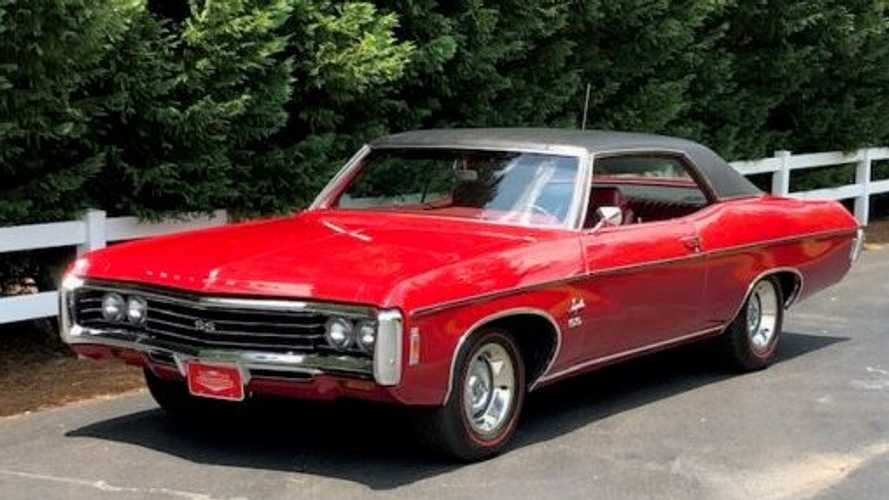1969 Impala SS Sport Coupe Packs A 427 Punch