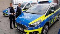 Ford S-Max für Polizei und Bundespolizei in Deutschland