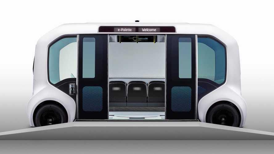 Toyota e-Palette, elettrico e autonomo per le Olimpiadi Tokyo 2020