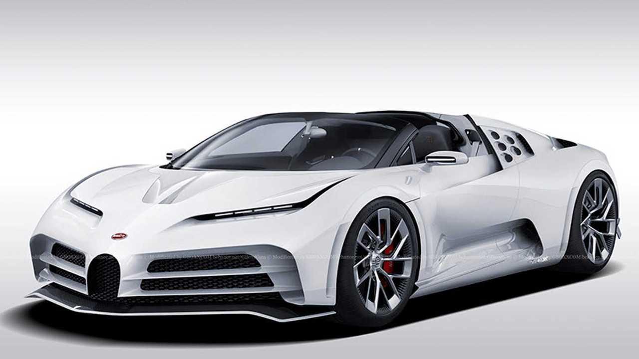 Bugatti Centodieci Roadster