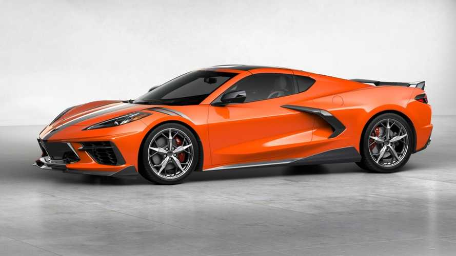 2020 Chevy Corvette Stingray Coupe most expensive version ...
