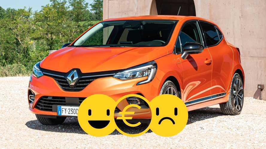 Promozione Renault Clio TCe 100 CV, perché conviene e perché no