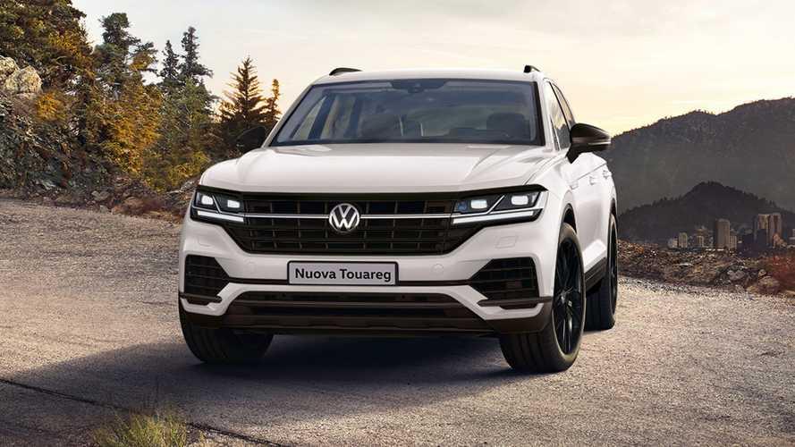 Volkswagen Touareg, arrivano il V6 benzina e l'edizione Black Style