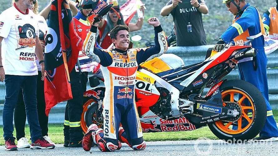 MotoGP: Márquez dá show na Tailândia e conquista o hexa da categoria