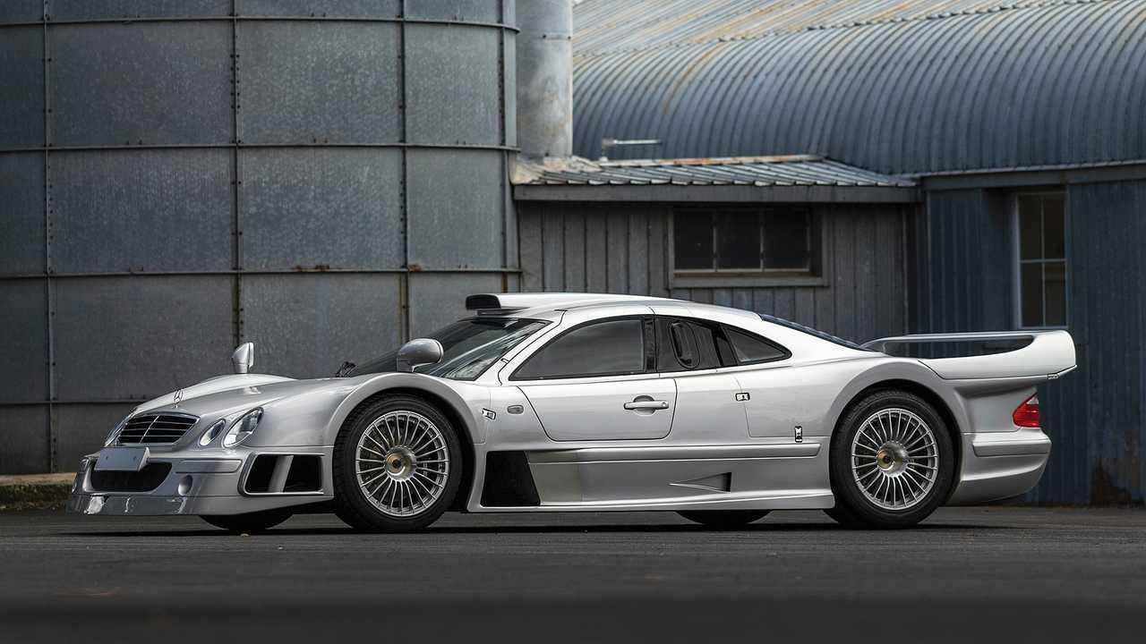 Mercedes CLK GTR (1998) - 4,1 milioni di euro