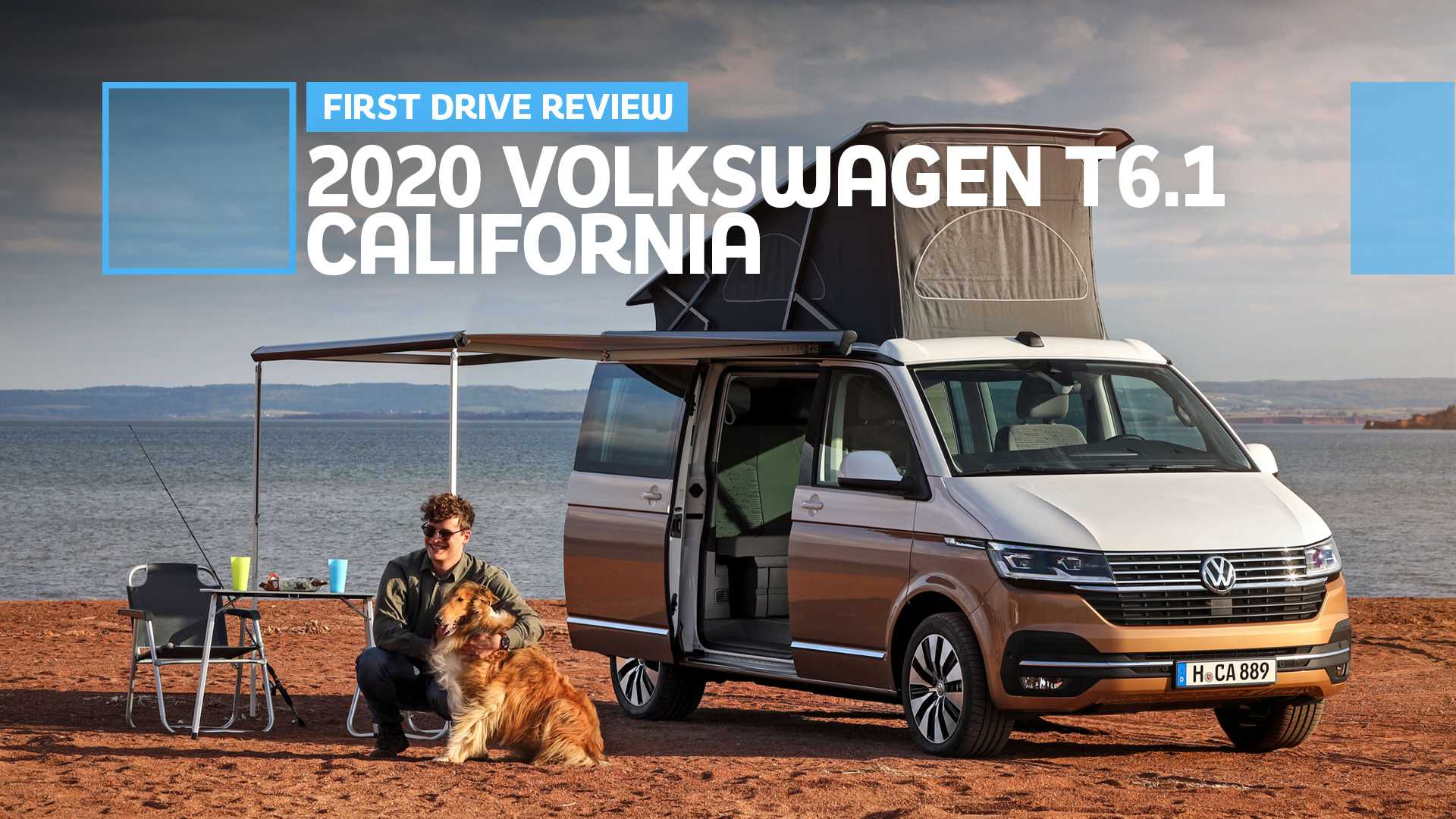 2020 Volkswagen T6 1 California First Drive Poppin Tops