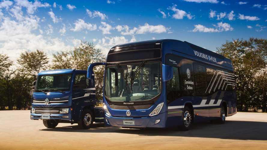 VW apresenta linha de caminhões e ônibus eletrificados para o Brasil