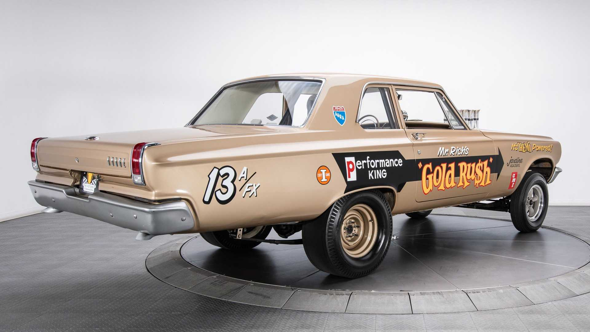 "[""Show Or Go In This 1965 Dodge Coronet Hemi Gasser""]"