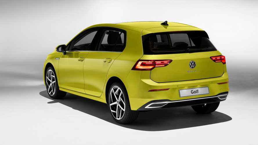 Volkswagen Golf 8 (2019) studio photos