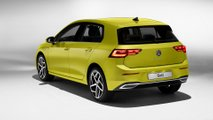 Nuova Volkswagen Golf (2019), le foto in studio