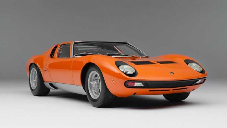 Get Your Lamborghini Miura P400 SV 1:8 Scale Model For Just $12K