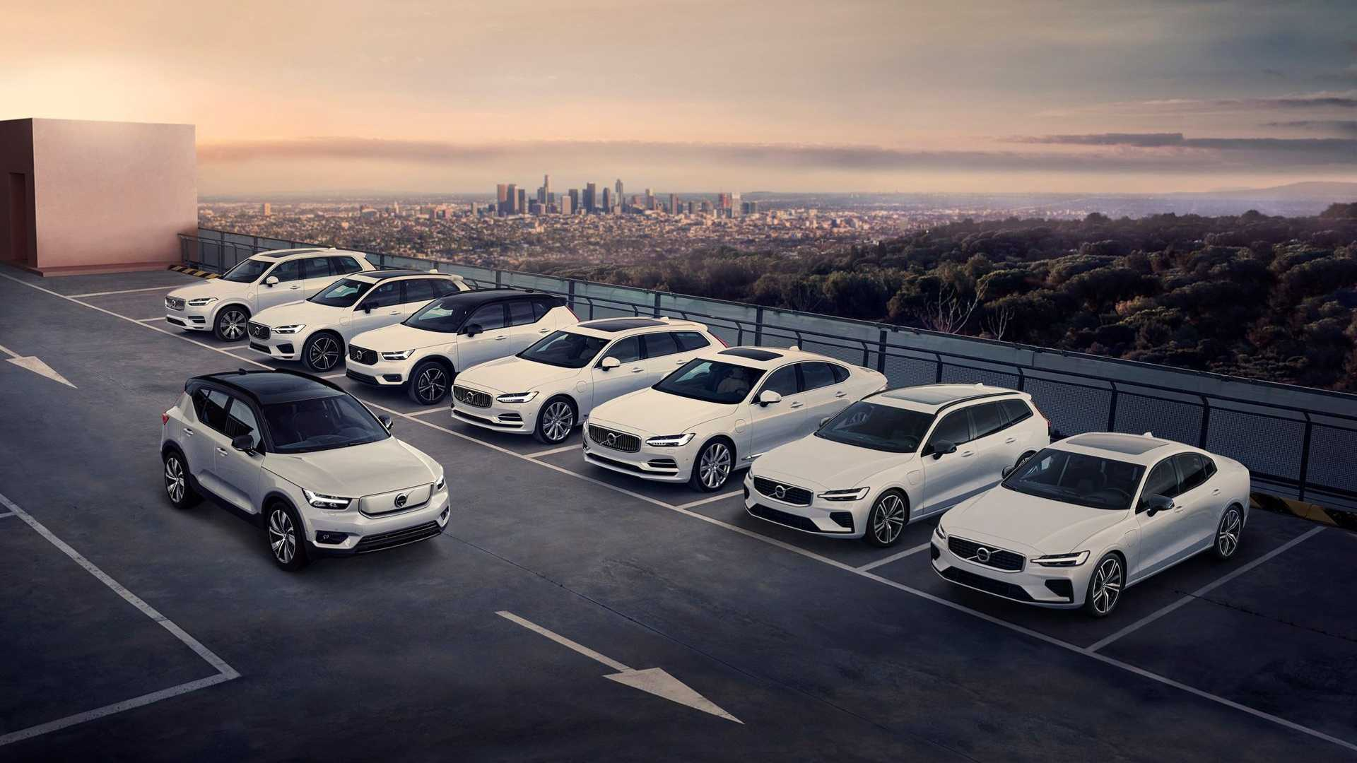 Volvo to launch plug-in Recharge versions for all models