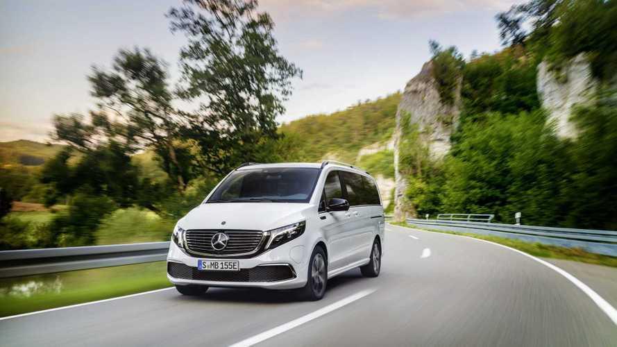 Mercedes EQV 2019, la primera furgoneta Premium eléctrica