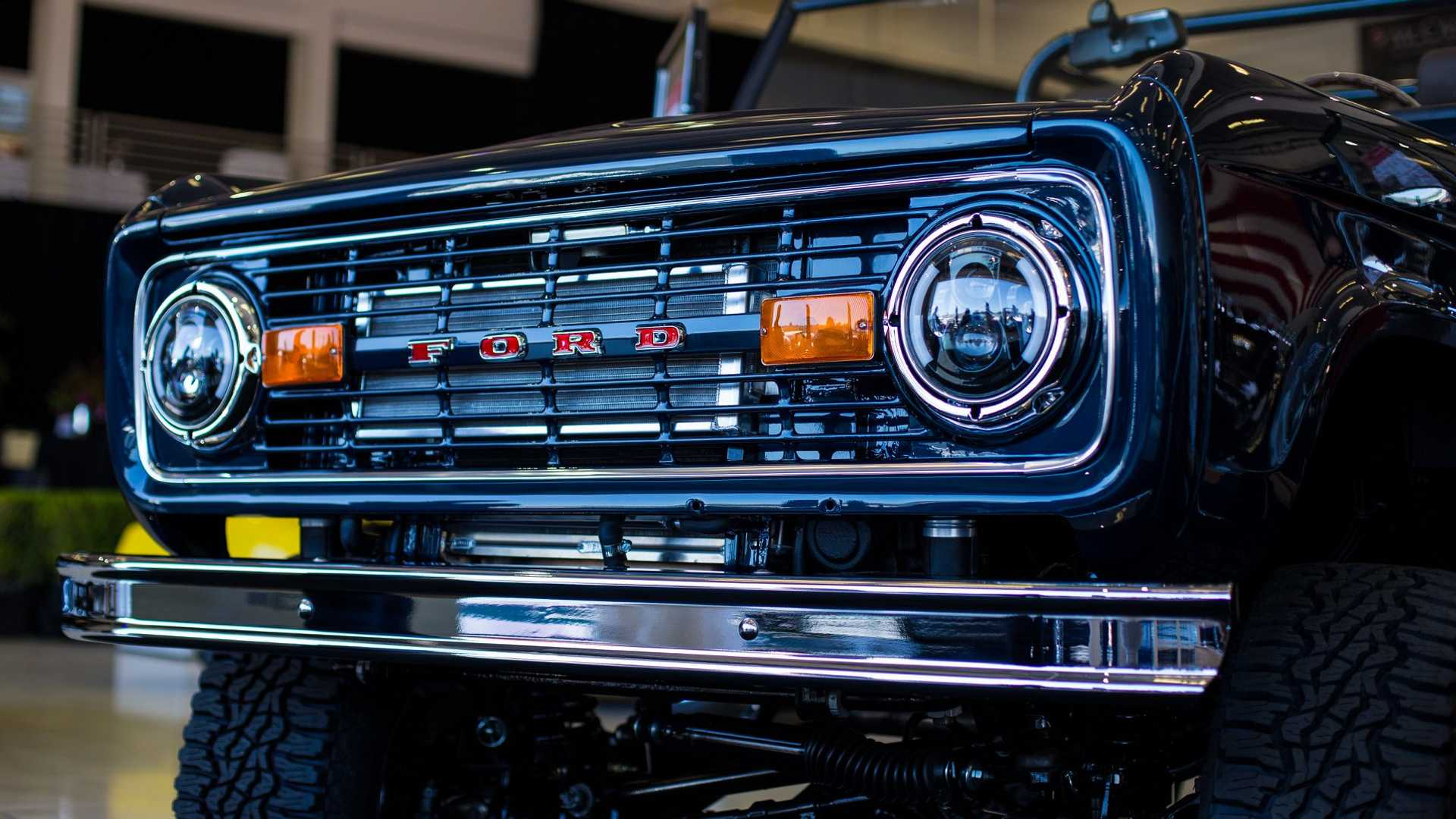 """[""""Ryan Blaney's Charity Bronco Unveiled At Monterey""""]"""
