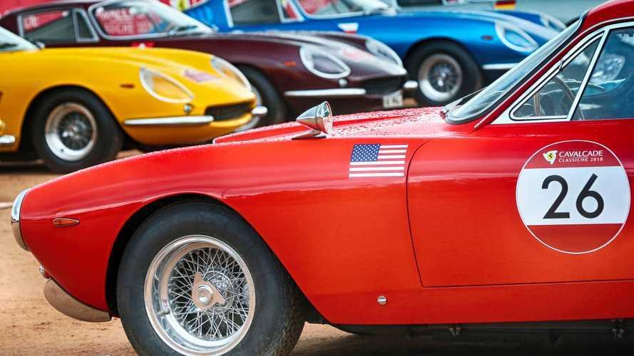 Ferrari Cavalcade, le classiche invadono Roma: ecco come vederle