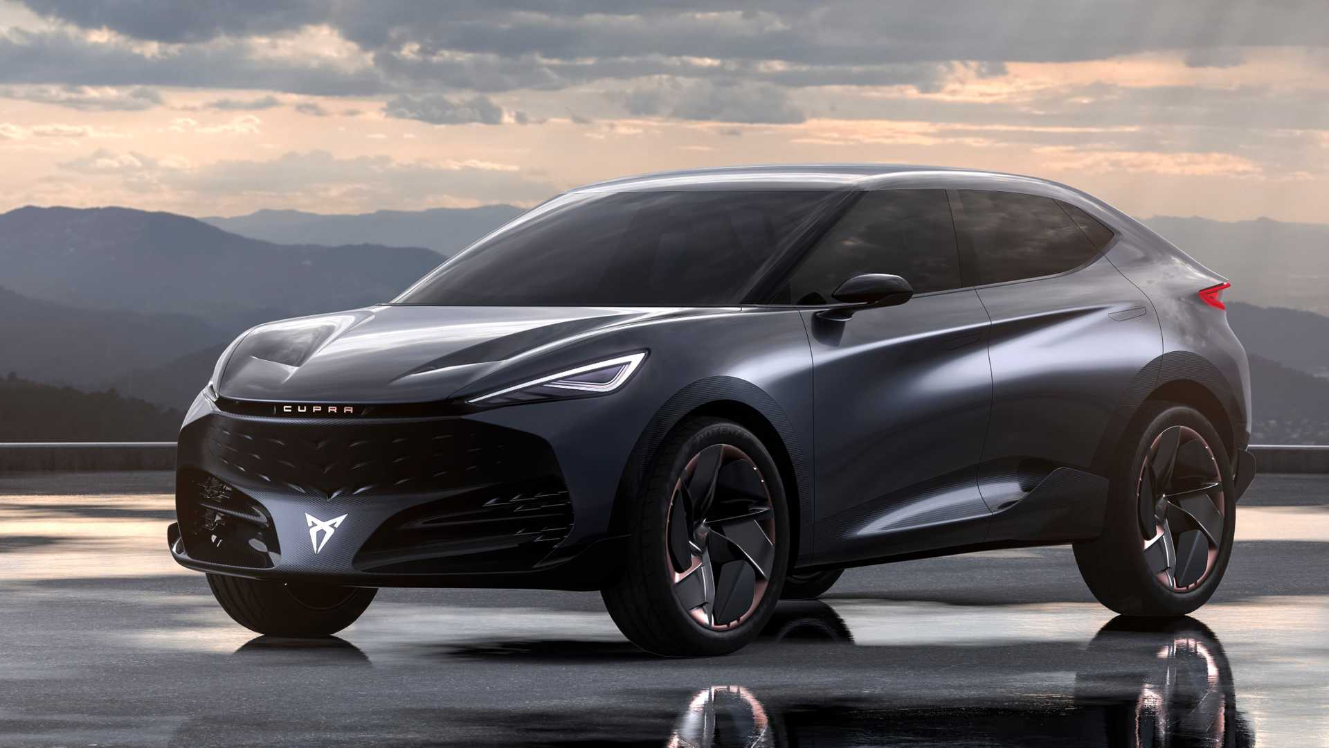 Cupra unveils the Tavascan concept
