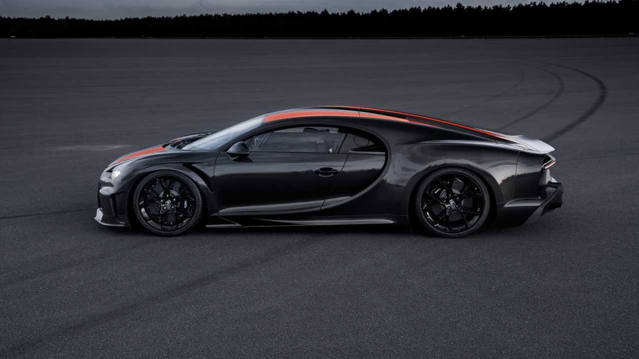 Bugatti Chiron Sport construit pour la course à toute vitesse
